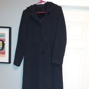 Anne Klein long wool coat